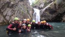 Canyon en groupe Pyrénées
