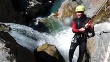 Canyoning dans les Hautes Pyrénées